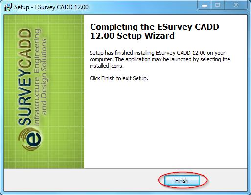 ESurvey Software: Installing Esurvey CADD and Civil Tools