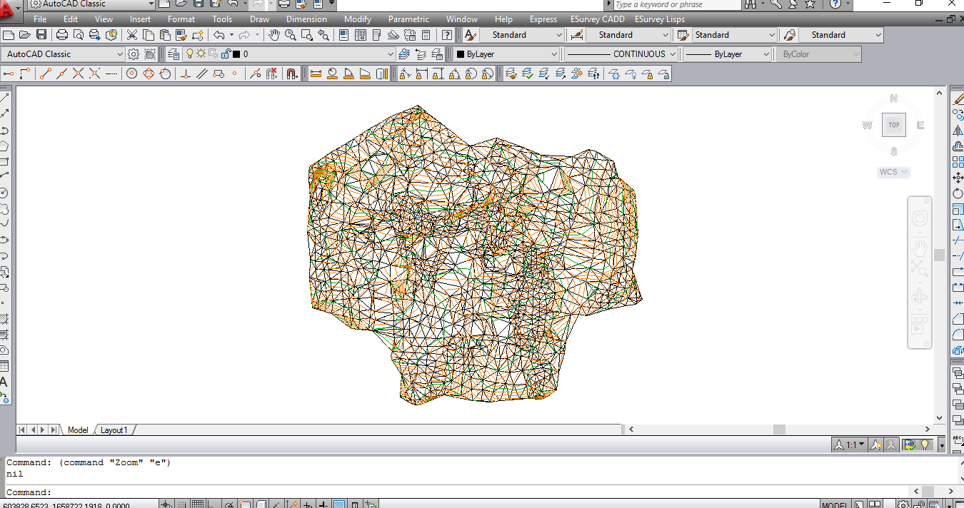 Create 3d Surface From Contour Data