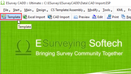 ESurvey Importing CS Data