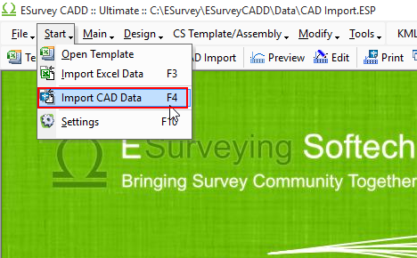 Import Cross Section Data From CAD