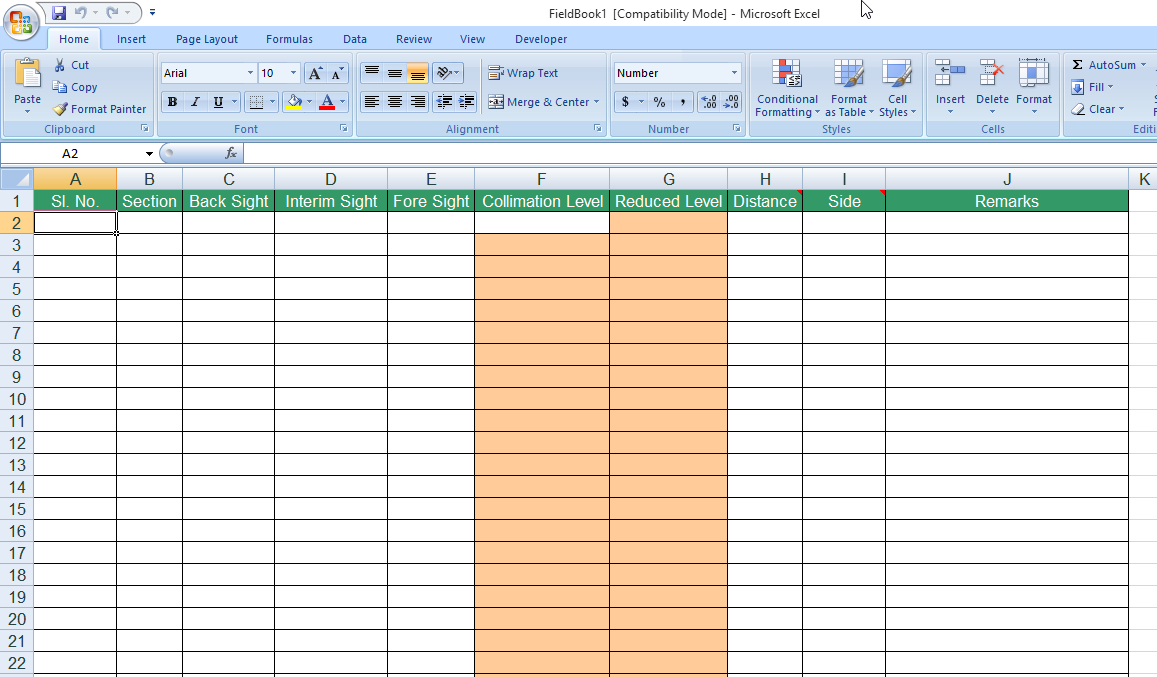 Help Importing Cross Section Data From Field Book