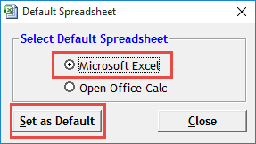 Setting Default CAD Package