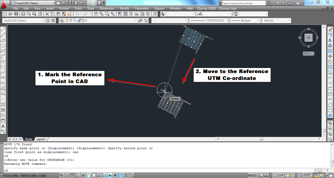 Help: Export AutoCAD Drawing as Google Earth KML