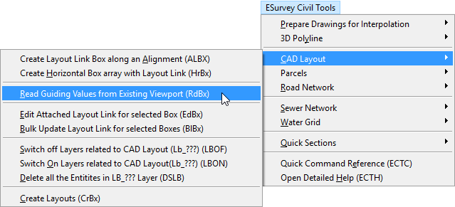 Software to Prepare Print Layouts in your CAD Package