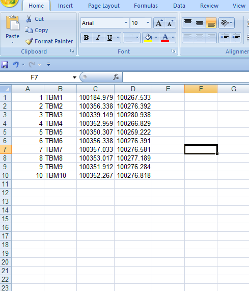 Excel to CAD Conversion in One Step