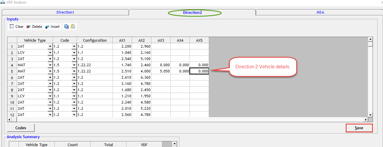 BBD, MSA, VDF analysis in One Click