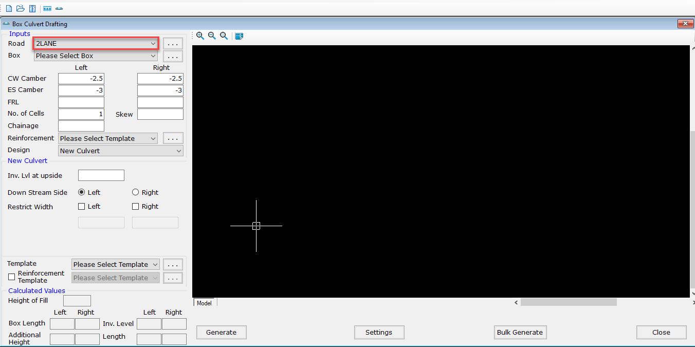 Box Culvertdrawingsoftware Esurvey Structure