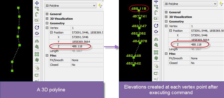 Free Autolisp: Create Elevations from 3D Line