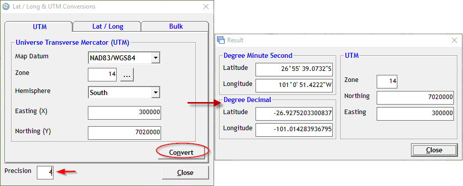 Free Software: UTM to Latitude Longitude Conversion