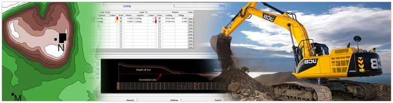 Earthwork Volume Calculation