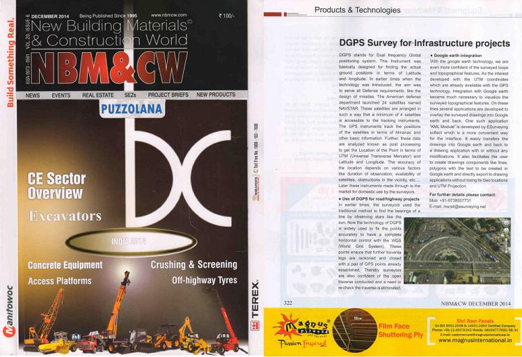 Land Survey Engineering Publication: NBM & CW Decr 2014