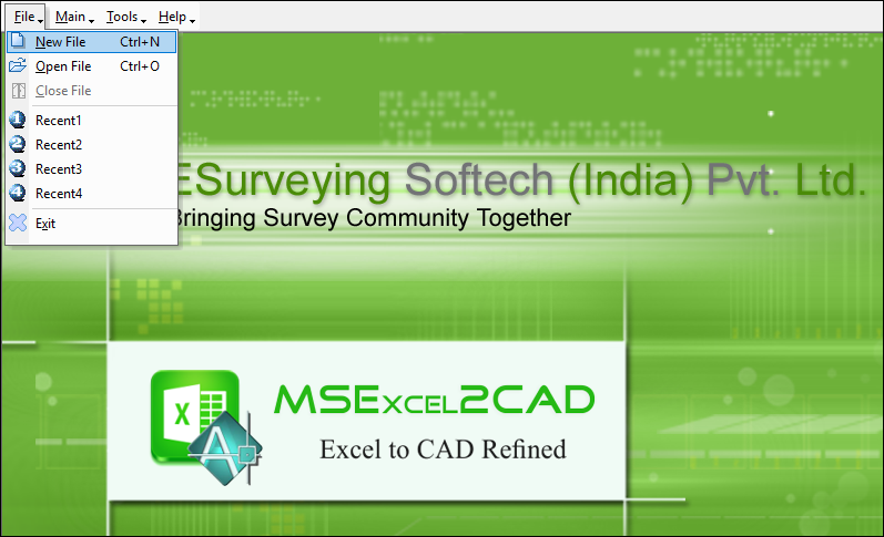 Software to Convert Excel Data to AutoCAD Table Format