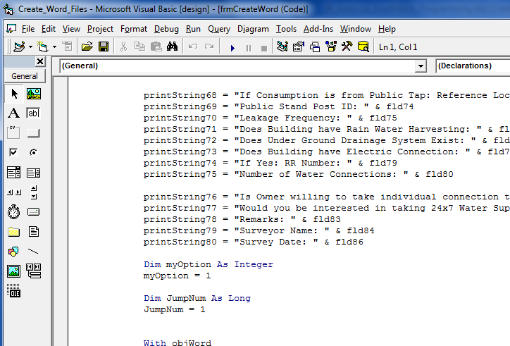 AutoLisp and VBA (Excel / Word) programming services